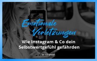 Blogbeitrag Titelbild: Unerkannte Gefahr: Wie soziale Medien dein Selbstwertgefühl beeinflussen können – und was du dagegen tun kannst