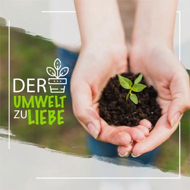 Der Umwelt zuliebe: Mit jedem Kauf wird ein Baum gepflanzt